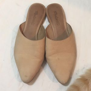 MADEWELL The Remi Mule in Stamped Lizard Size 61/2